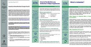 Manifest Changes - Mercury Switches - OAD FS Asbestos